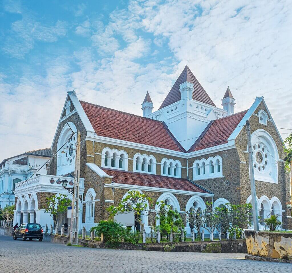 Image of Anglican All Saints' Church Galle