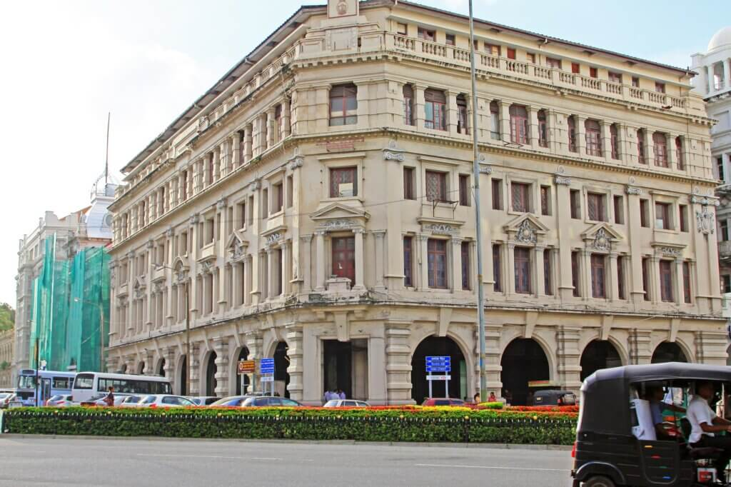 Image of Colombo History Colonial Building Sri Lanka