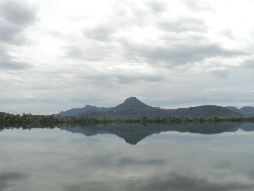 Image of Gal Oya Reservoir In Ampara sri lanka