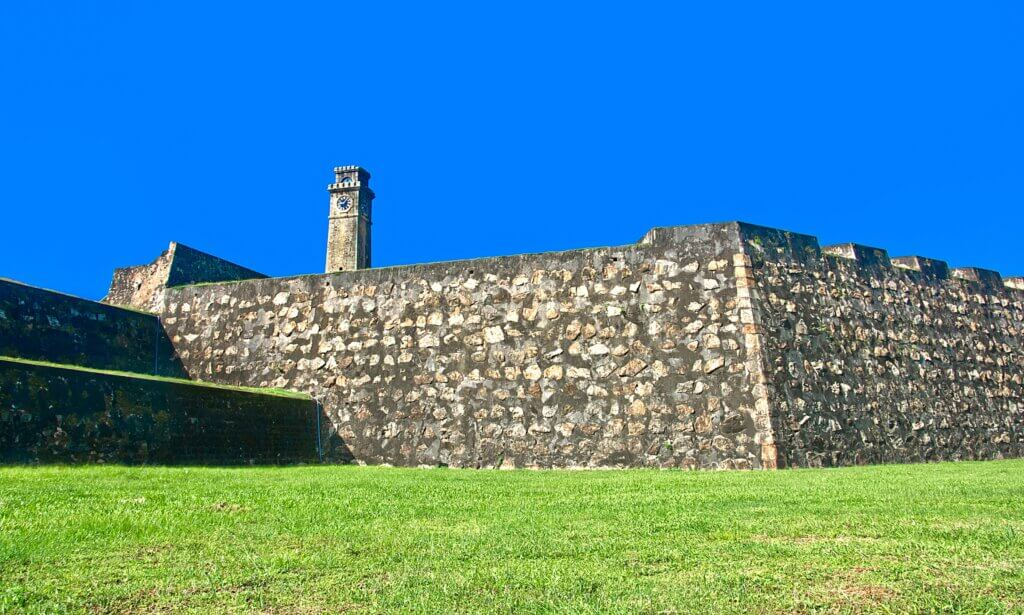 image of Galle Dutch Fort 17th Centurys Ruined Dutch