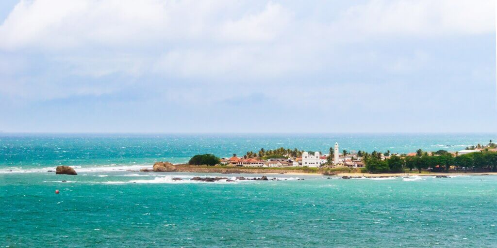 Image of Galle Fort in sunny day view