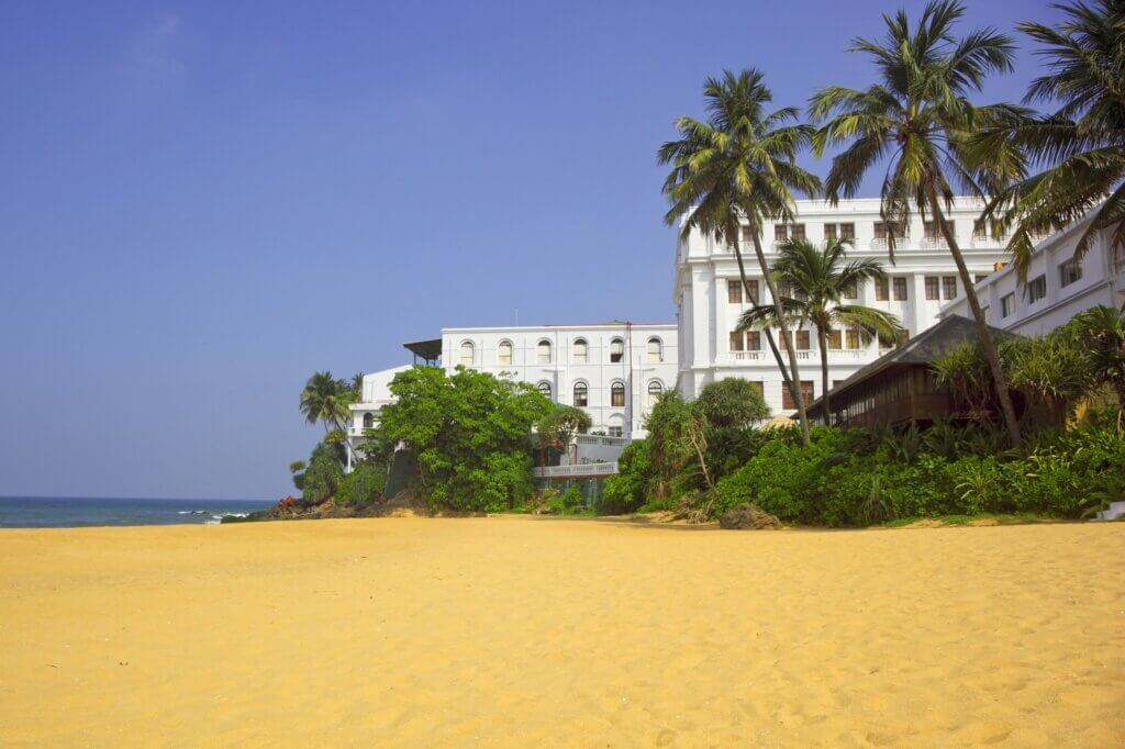 Image of Hotel near a tropical beach in colombo sri lanka