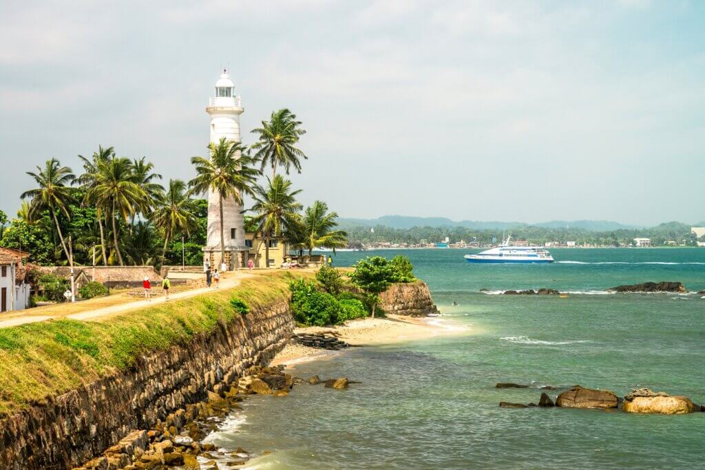 Image of Lighthouse area Galle fort