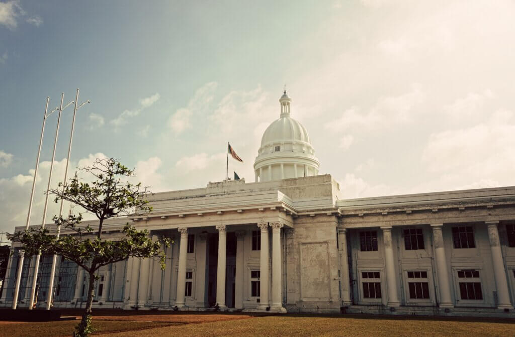 Image of New Town Hall in Colombo Sri Lanka