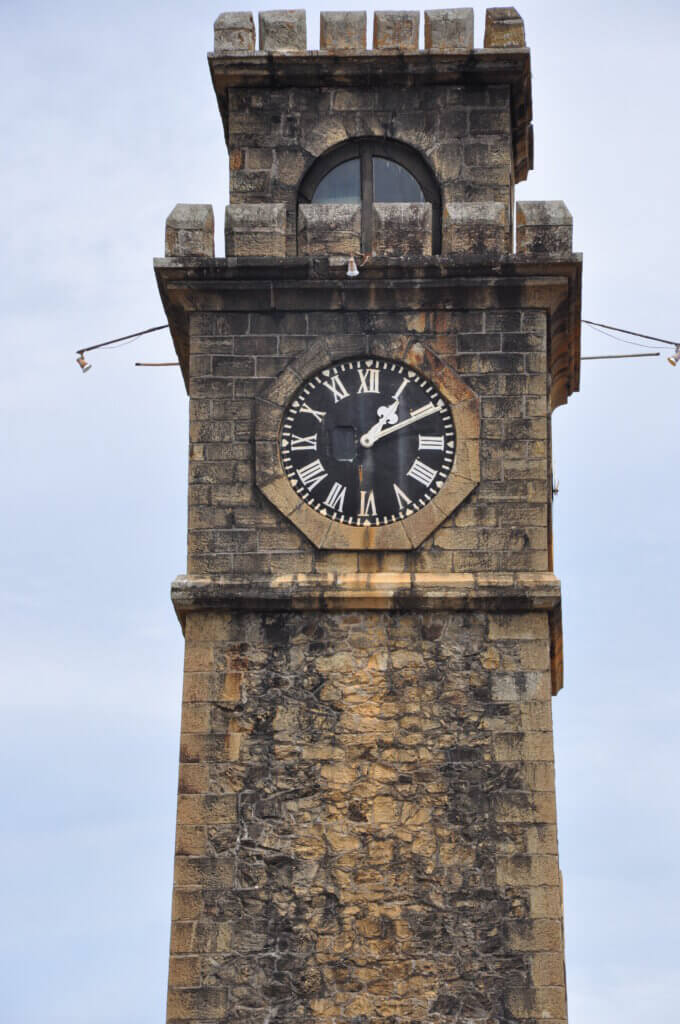 Image of Old Clock Tower At Galle Dutch Fort