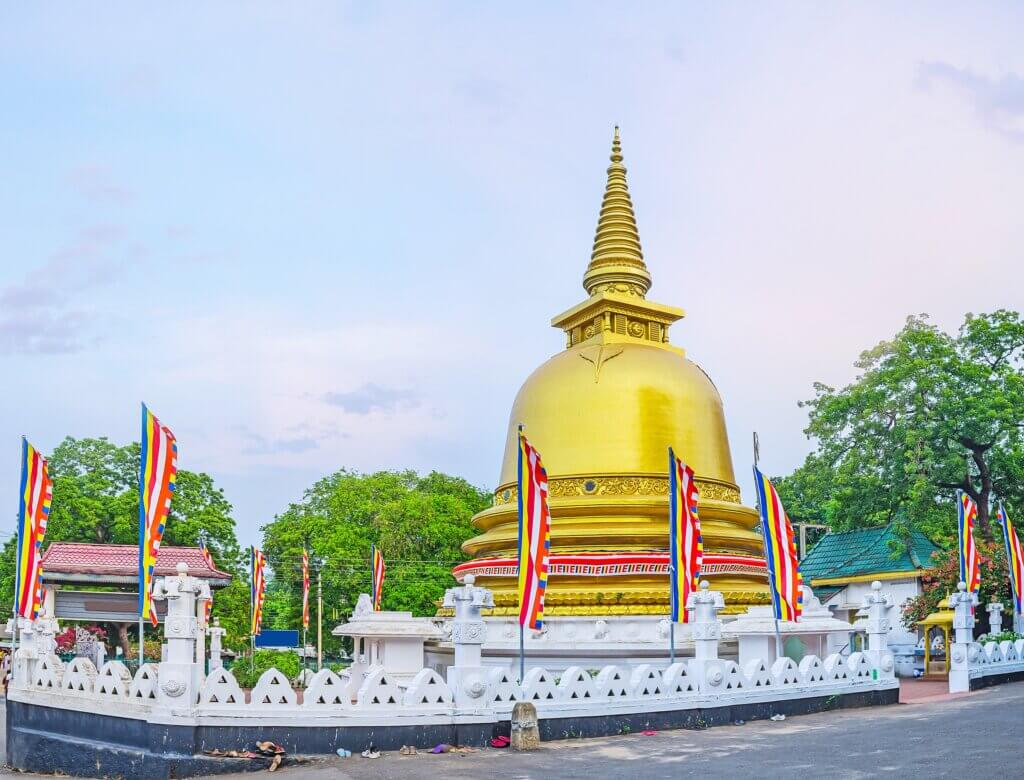 Image of Panorama of the Stupa of Dambulla Golden Temple
