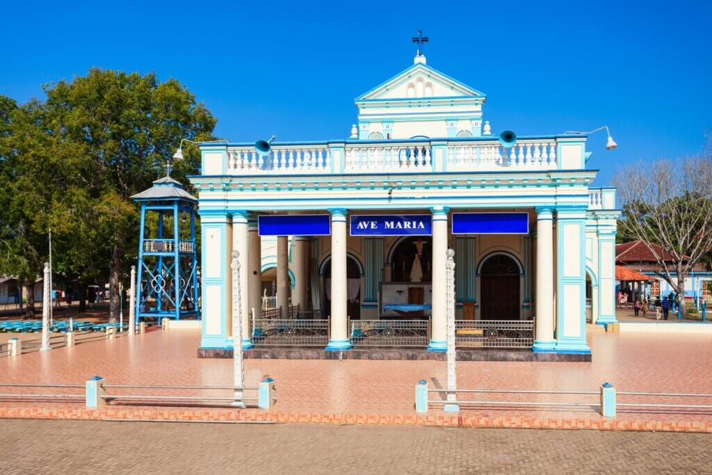 Image of The Shrine of Our Lady of Madhu is a Roman Catholic Marian shrine in Mannar