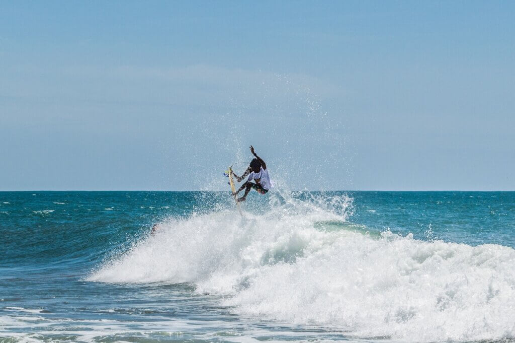 Image of Surfing at Arugam bay beach