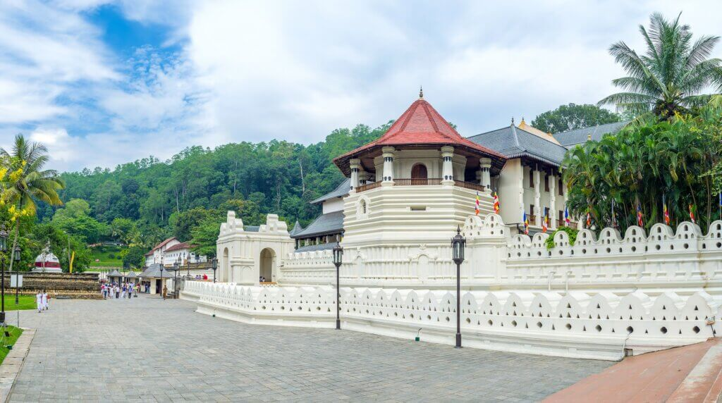 Image of Temple of Sacred Relic Tooth in Kandy