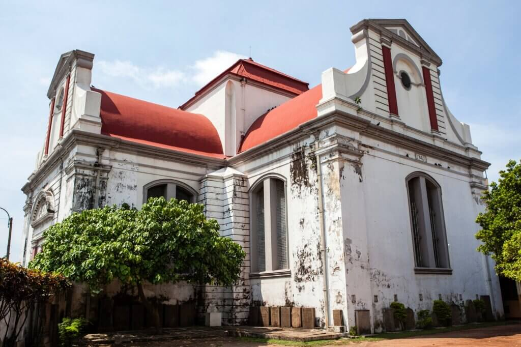 Image of Wolvendaal Church Sri Lanka
