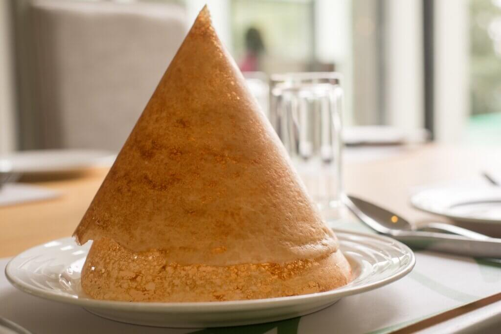 Image of Cone shaped dosa is a very famous sri lanka