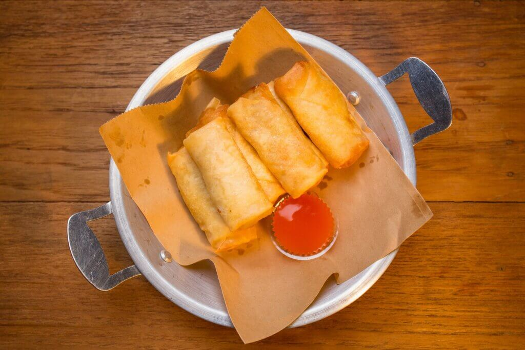 Image of Deep fried spring rolls Thai Spring Roll