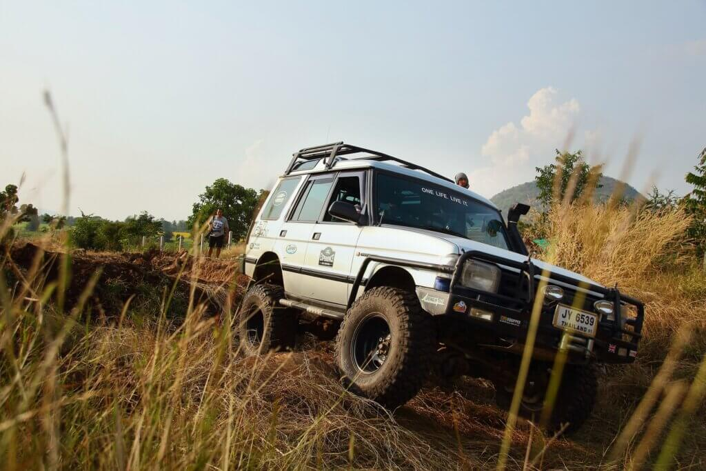 Image of The aggregate annual rally of the Land Rover lovers