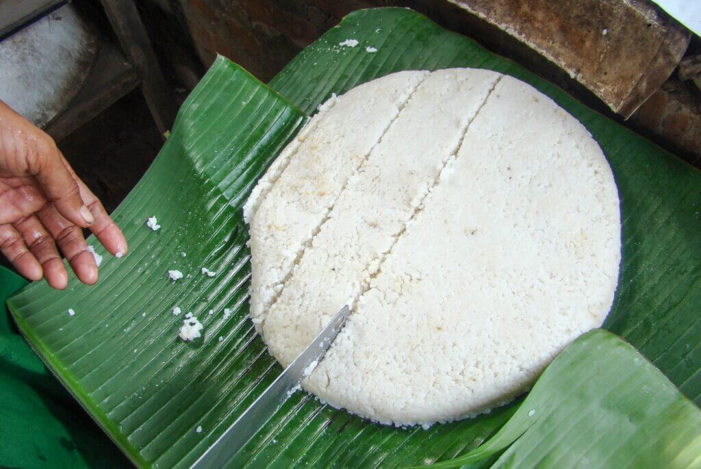 Image of Milk rice is a traditional food made from rice and coconut milk