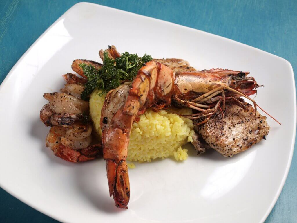 Image of Steamed Rice with Shrimp and Lobster sri lanka