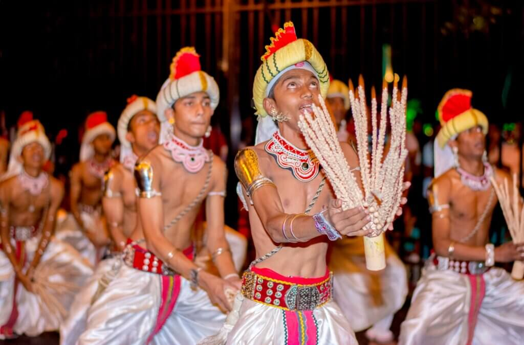 Image of The Kandy Esala procession In Kandy