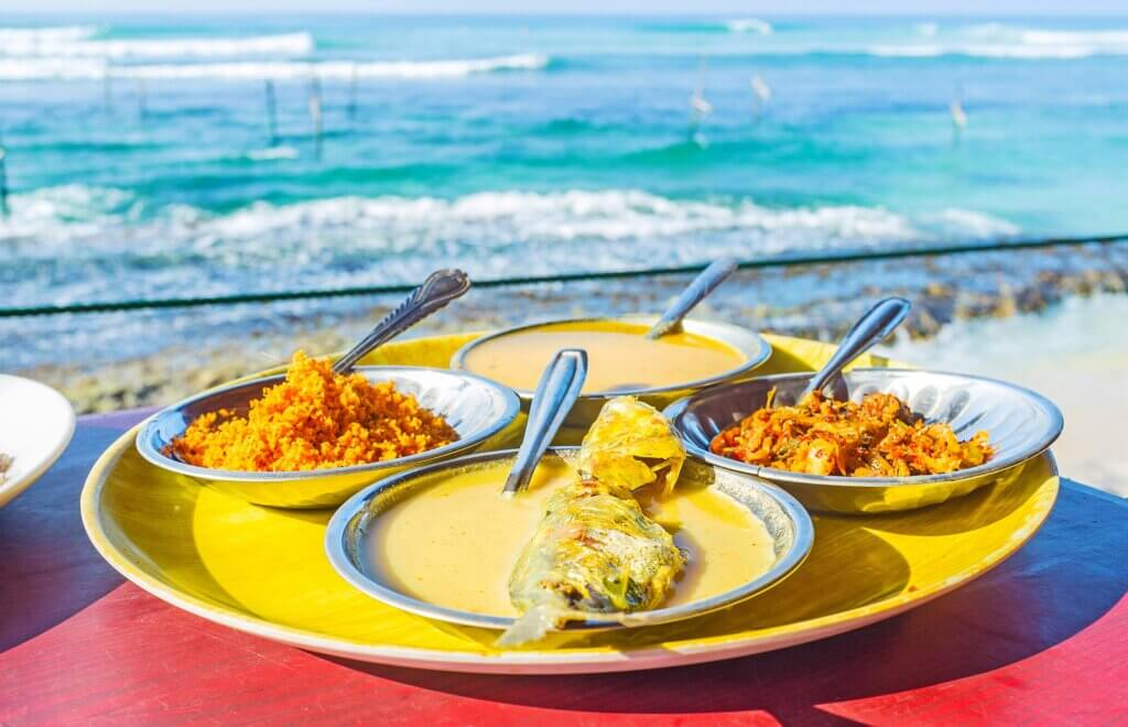 Image of The fish curry is the most popular dish Sri Lanka