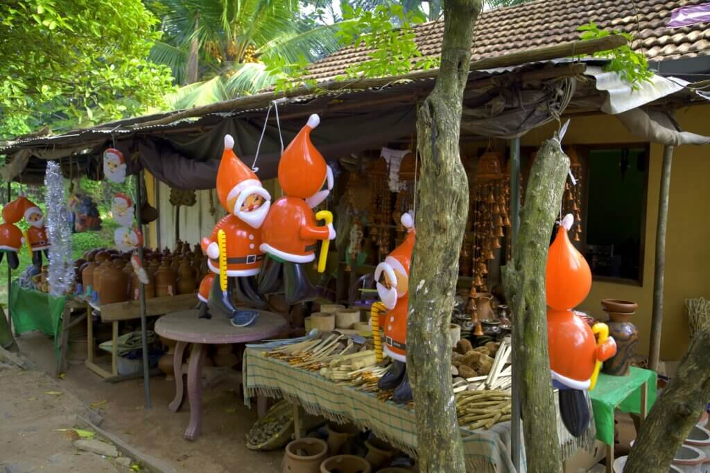 Image of A little shop in the tropes of Sri Lanka
