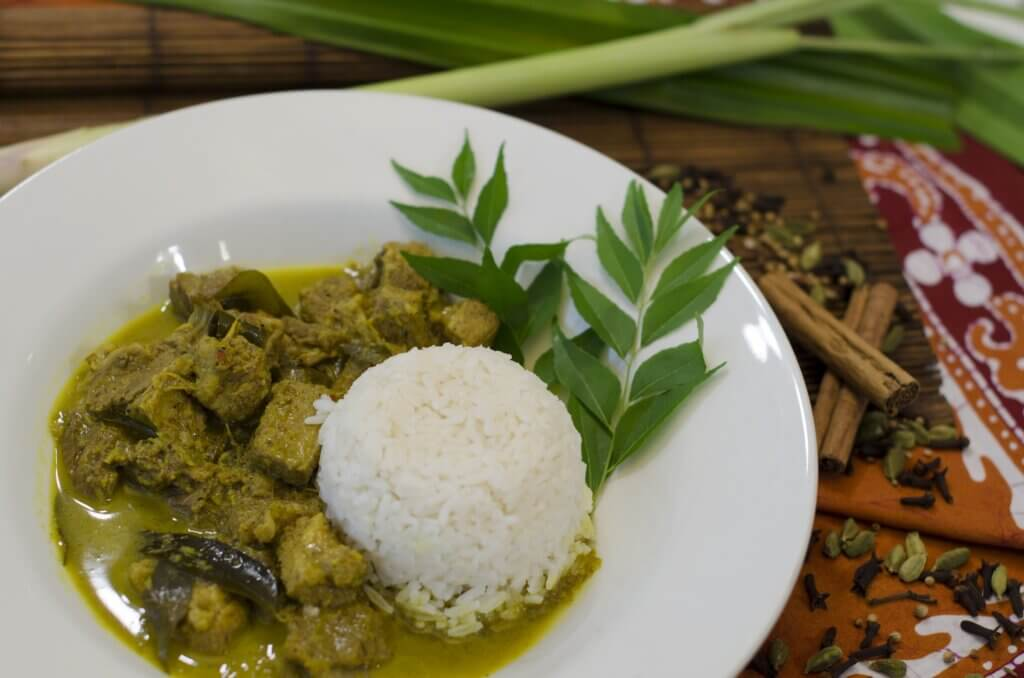 Image of Beef Curry with Rice