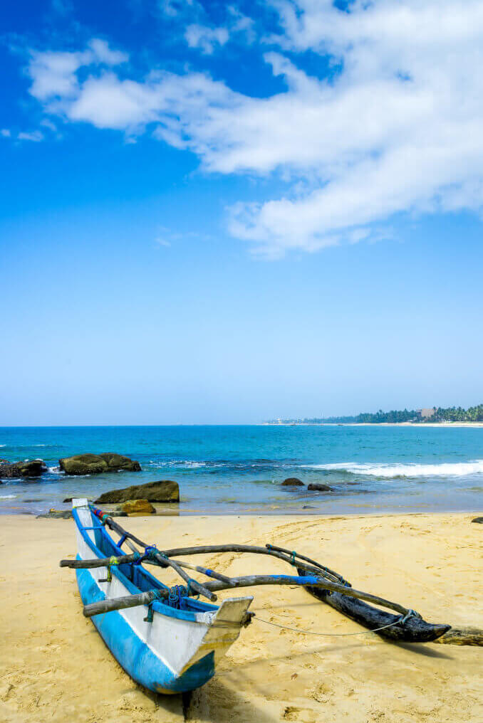 Image of Traditional fisherman boat in beach